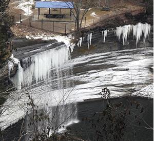 Clinton County News » Photos made at 76 Falls on Lake