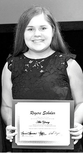 2019 Rogers Scholar Abbi Young of Clinton County.psd